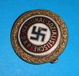 NSDAP GOLDEN PARTY BADGE Reproduction