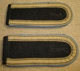 WWII GERMAN WAFFEN-SS TRANSPORT  NCO SHOULDER STRAPS